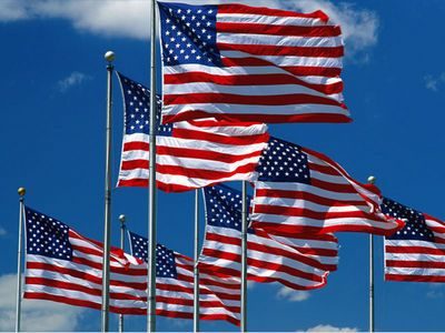 American Flags, Nylon Flags, Polyester Flags, Classroom